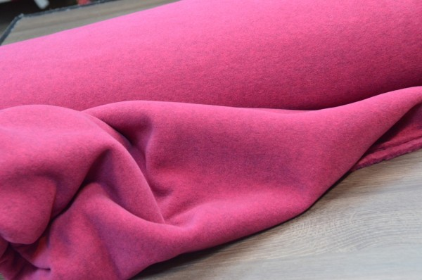 Fleece Stoff / Hilco / Pink