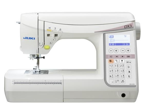 Die JUKI Nähmaschine HZL-DX3 / 30 Euro Gutschein und 1 Rolle Nähgarn