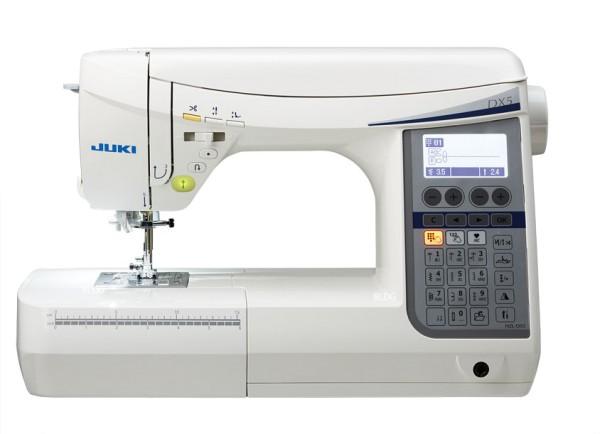 Die JUKI Nähmaschine HZL-DX5 / 30 Euro Gutschein und 1 Rolle Nähgarn